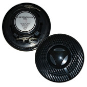 120W Pair Marine/Outdoor Speakers - 2 Way - 6 Inch - Black - Heavy Duty