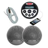 Bluetooth Marine Waterproof Audio Kit MP3/USB/AM/FM/Ipod NEW Latest Boat Stereo Compact
