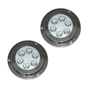 2 x 18W Underwater LED Boat Lights