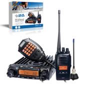 BUSHRANGER PACK - UHF MOBILE & HANDHELD TWIN PACK + UHF ANTENNA + FME ANTENNA CABLE KIT