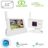 "Uniden 4.3"" Digital Wireless Baby Video Monitor with Remote Viewing - Email Alert, Night Vision"
