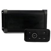 500W 4-Channel Marine Amplifier Bluetooth + Remote Kit