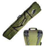 Ski Wheelie Travel Bag  170cm - Khaki- Thick Padded  High Quality Bag