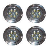 4 x 12W Underwater LED Boat Lights