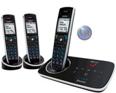 Uniden Elite Dect Digital Cordless Phone System With 2 extra Handsets