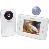 "Uniden Digital Wireless Baby Video Monitor System with ""Walkie Talkie"" Function - 3.5"" LCD"