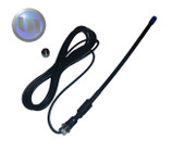 Axis Flexi Dipole GI UHF Antenna Kit 440-450Mhz 30cm 3dB with Base / 3m cable