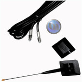 AXIS  - NEXT G/GSM GLASS MOUNT KIT 16cm - 5 Metre Coaxial/FME Assembly