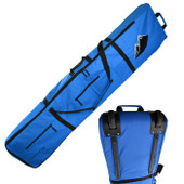 Ski Wheelie Travel Bag  170cm - Blue - Thick Padded  High Quality Bag