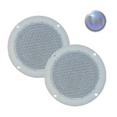 Axis Marine/Outdoor 60W 2-Way 5 Inch Speakers - Ultra Slim Design