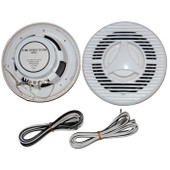 120W Pair Marine / Outdoor Speakers - 2 Way 6 Inch - Heavy Duty