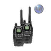 MIDLAND 3 Watt UHF-CB Handhelds Twin Pack - 2 Pin Jack For Ext. - LCD Display With Backlight