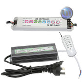 LED Waterproof Power Supply 60W + RGB Controller - Suitable for pool lights