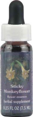 Flower Essence Sticky Monkeyflower Dropper -- 0.25 fl oz