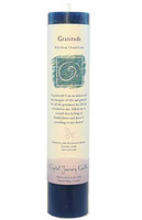 Gratitude - Crystal Journey Herbal Magic Pillar Candle