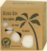 White Eco Palm Wa Tea Lightsx