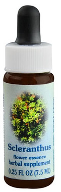 Flower Essence Scleranthus Supplement Dropper -- 0.25 fl oz