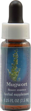 Flower Essence Mugwort Supplement Dropper -- 0.25 fl oz