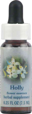 Flower Essence Holly Dropper -- 0.25 fl oz