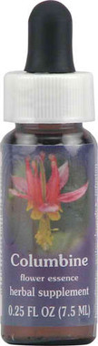 Flower Essence Range of Light Columbine Supplement Dropper -- 0.25 fl oz