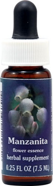 Flower Essence FES Quintessentials™ Manzanita Supplement Dropper -- 0.25 fl oz