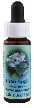 Flower Essence Crab Apple Supplement Dropper -- 0.25 fl oz