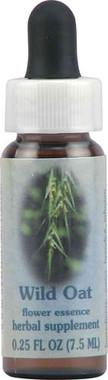 Flower Essence Wild Oat Herbal Supplement -- 0.25 fl oz