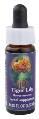 Flower Essence Tiger Lily Herbal Supplement Dropper -- 0.25 fl oz