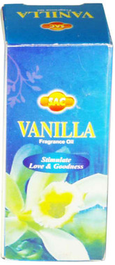 Sac Vanilla Fragrance Oil10ML