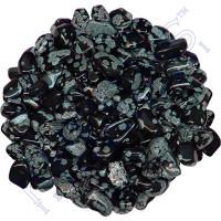 Tumbled Stones Snowflake Obsidian