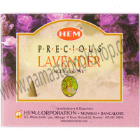 Hem Incense Cones in Display Box 10 cones Precious Lavender
