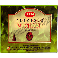 Hem Incense Cones in Display Box 10 cones Precious Patchoul