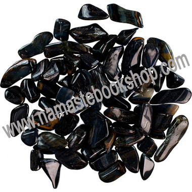 Tumbled Stones Blue Tiger Eye
