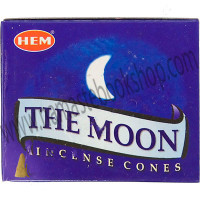 Hem Incense Cones in Display Box 10 cones The Moon