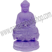 Frosted Acrylic Feng Shui Figurines Meditating Buddha