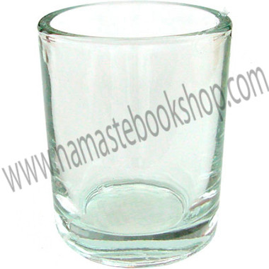 Glass Votive Holder Clear Glass