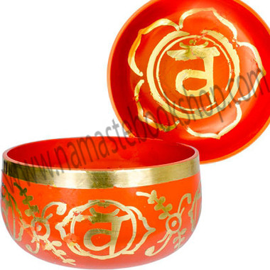 Chakra Singing Bowl Orange - Sacral Chakra