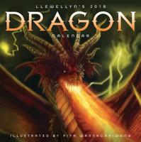Llewellyn's 2018 Dragon Calendar