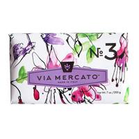 Via Mercato No.3 - Pepe Rosa, Lavender & Vanilla Bean Soap