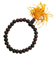 Rosewood Wrist Mala 8 mm 27 Beads with Tassel