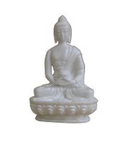 White Color Buddha