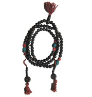 Black Bone Prayer Beads