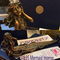 Mermaid Incense Holder