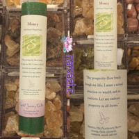 Reiki Energy Charged Candle - Money