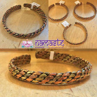 Adjustable Copper&Brass Bracelets