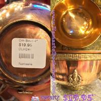 Om Ganesh 4 inch Bowl