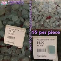 Gem Quality Tumbled Aquamarine