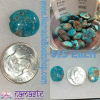 Beautiful REAL Turqoise Cabochons