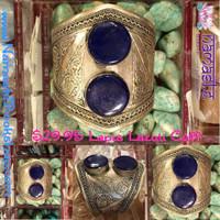 Lapis Lazuli Cuff