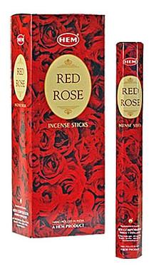Hem Red Rose Incense
